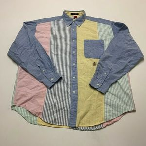 Tommy Hilfiger Color Block Shirt VTG